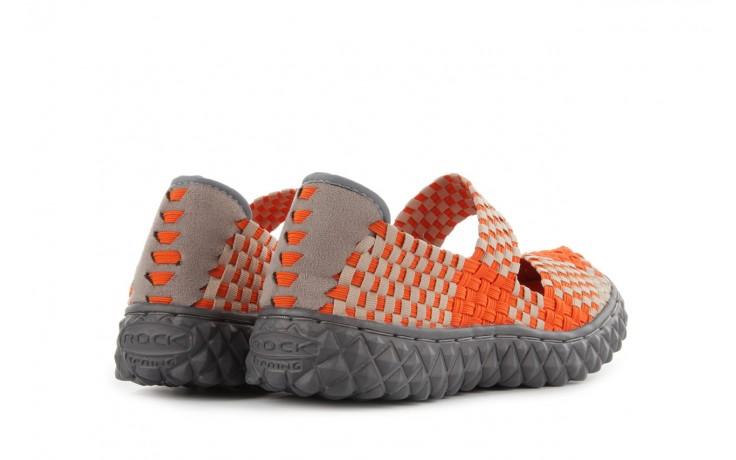 Sandały rock over orange-beige, pomarańcz/ beż - rock - nasze marki 3