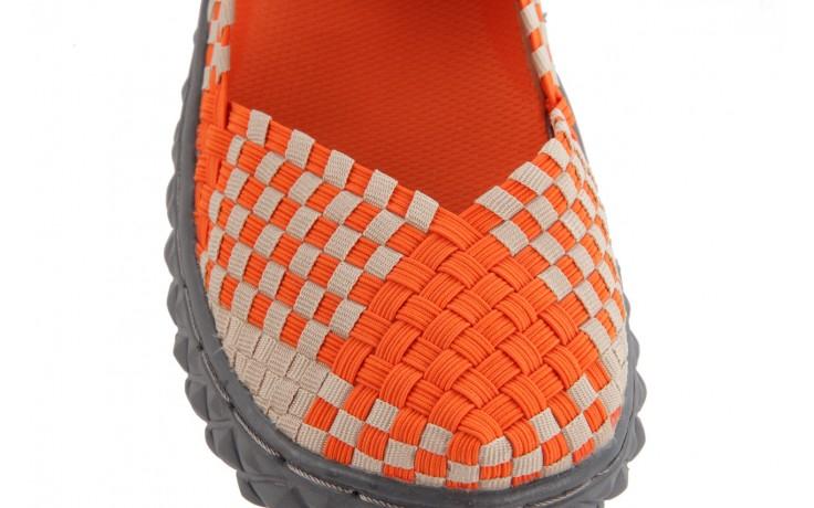 Sandały rock over orange-beige, pomarańcz/ beż - rock - nasze marki 6