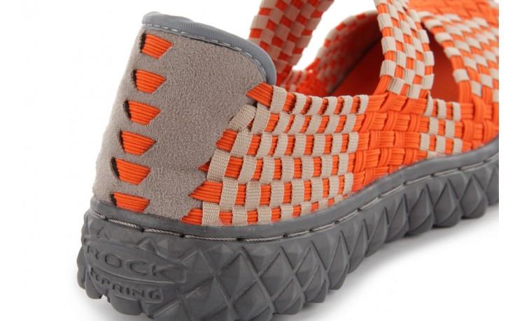 Sandały rock over orange-beige, pomarańcz/ beż - rock - nasze marki 4