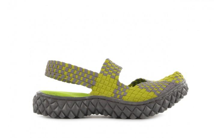 Sandały rock over sandal green-grey, zielony/ szary, materiał  - rock - nasze marki