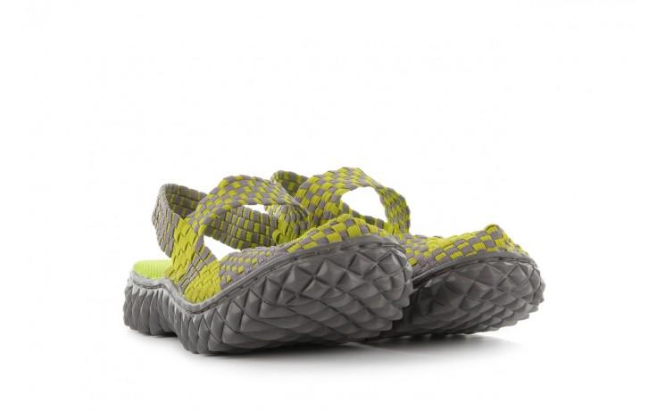 Sandały rock over sandal green-grey, zielony/ szary, materiał  - rock - nasze marki 1
