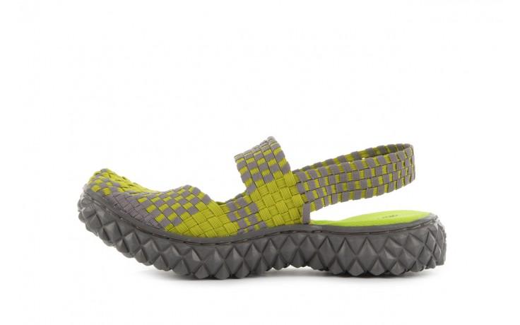 Sandały rock over sandal green-grey, zielony/ szary, materiał  - rock - nasze marki 2