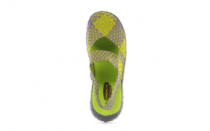 Sandały rock over sandal green-grey, zielony/ szary, materiał  - rock - nasze marki 4
