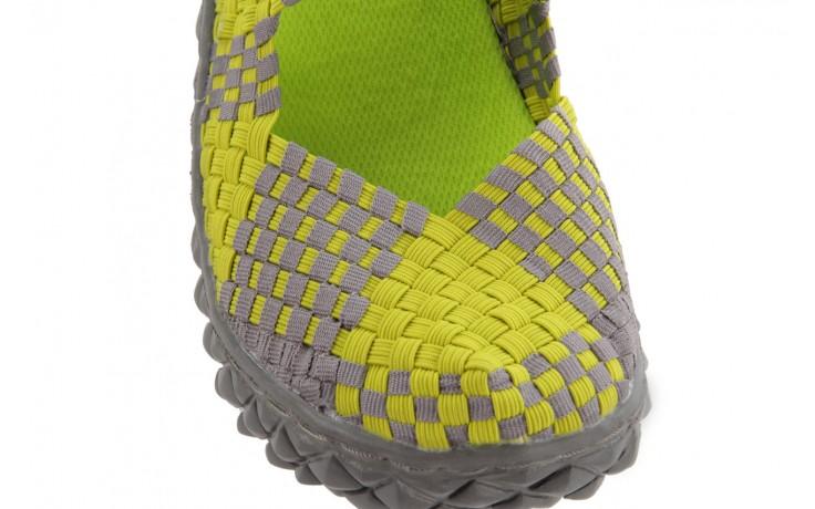 Sandały rock over sandal green-grey, zielony/ szary, materiał  - rock - nasze marki 5