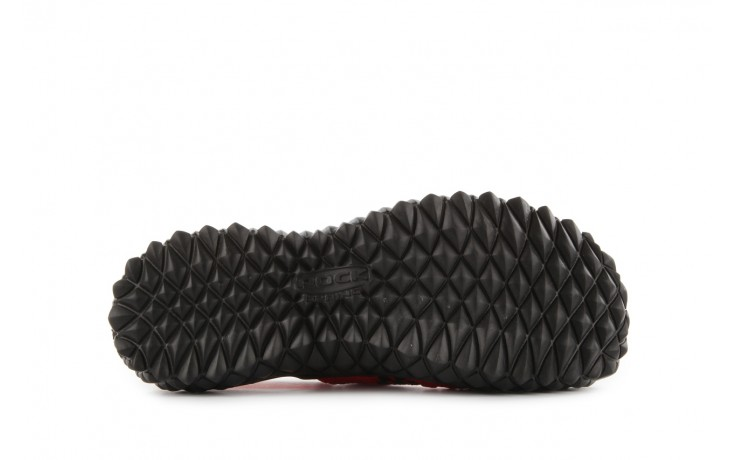 Sandały rock over sandal red-black, czarny/ czerwony, materiał - rock - nasze marki 6