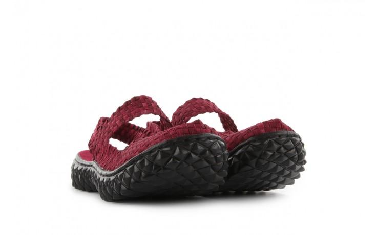 Rock over sandal washed bordo - rock - nasze marki 1