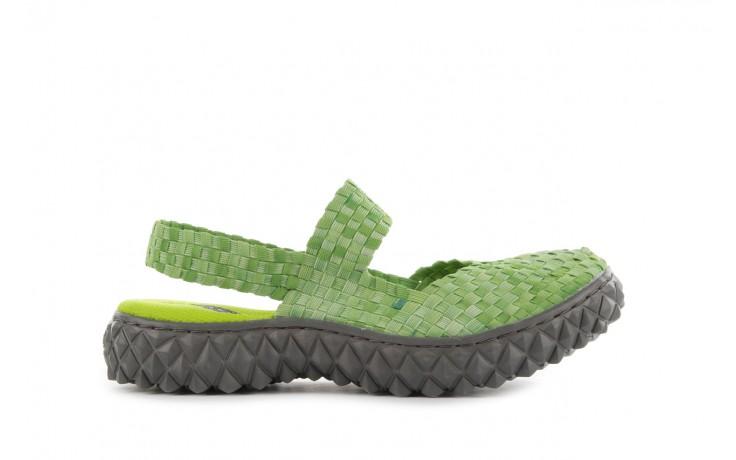 Sandały rock over sandal washed green, zielony, materiał - rock - nasze marki