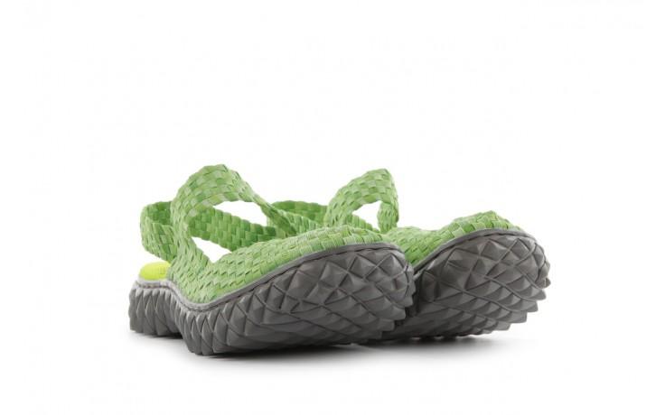 Sandały rock over sandal washed green, zielony, materiał - rock - nasze marki 1