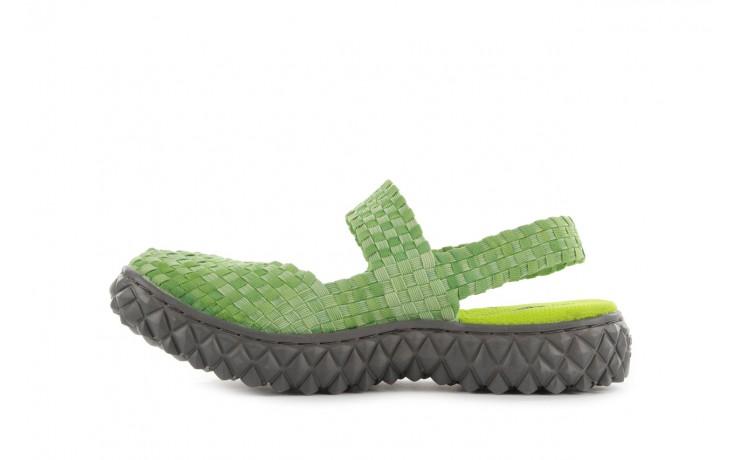 Sandały rock over sandal washed green, zielony, materiał - rock - nasze marki 2