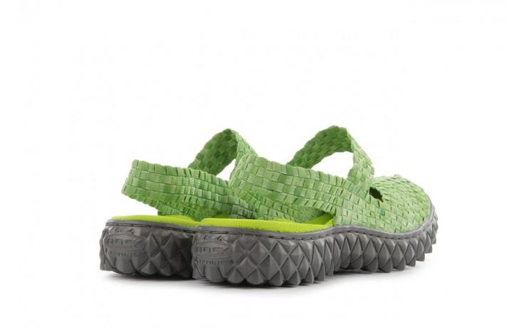 Sandały rock over sandal washed green, zielony, materiał - rock - nasze marki 3