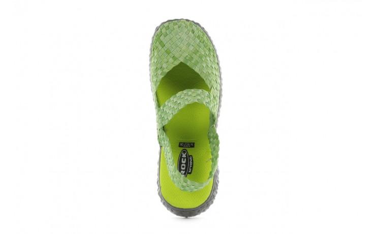 Sandały rock over sandal washed green, zielony, materiał - rock - nasze marki 4
