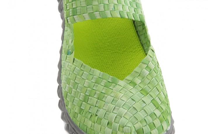 Sandały rock over sandal washed green, zielony, materiał - rock - nasze marki 5