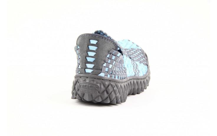 Półbuty rock over washed blue-grey, niebieski, materiał - rock - nasze marki 1