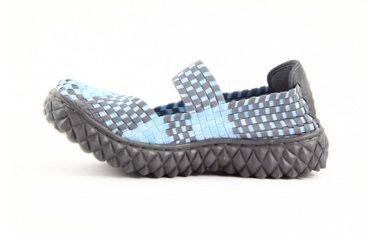 Półbuty rock over washed blue-grey, niebieski, materiał - rock - nasze marki 3