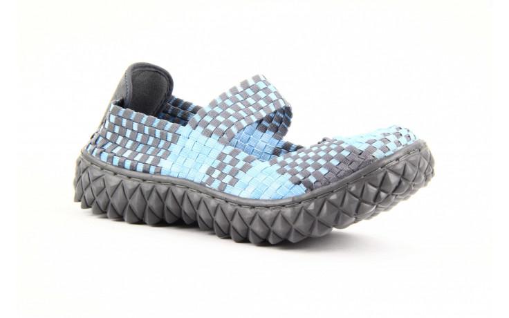 Półbuty rock over washed blue-grey, niebieski, materiał - rock - nasze marki 2