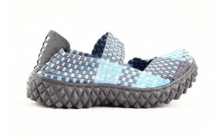 Półbuty rock over washed blue-grey, niebieski, materiał - rock - nasze marki 4