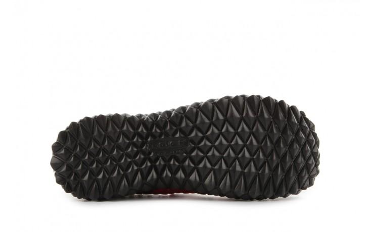 Sandały rock over washed red-black, czarny/ czerwony, materiał - rock - nasze marki 5