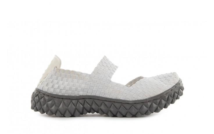 Sandały rock over white off white, biały, materiał - rock - nasze marki