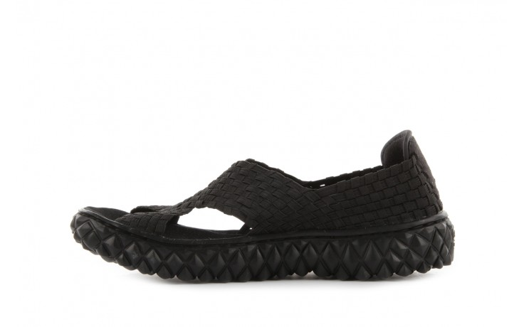 Sandały rock romus black, czarny, materiał - rock - nasze marki 2