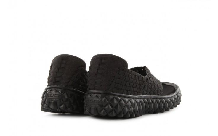 Sandały rock romus black, czarny, materiał - rock - nasze marki 3