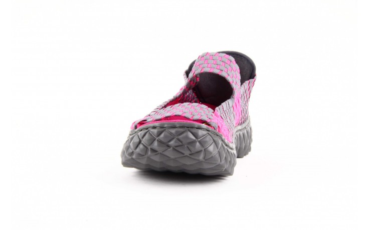 Rock sandal 2 closed fuchsia-grey - rock - nasze marki