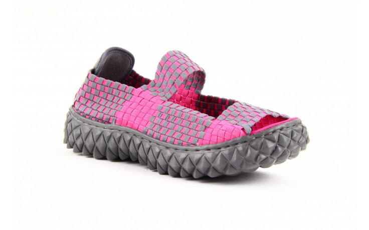 Rock sandal 2 closed fuchsia-grey - rock - nasze marki 3