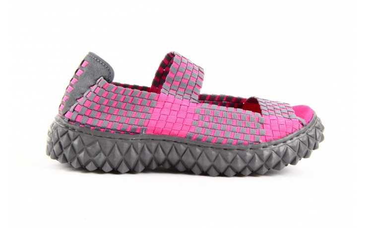Rock sandal 2 closed fuchsia-grey - rock - nasze marki 4
