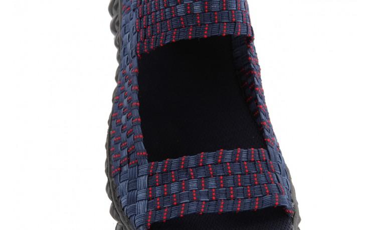 Rock sandal 2 closed navy-navy-red - rock - nasze marki 5