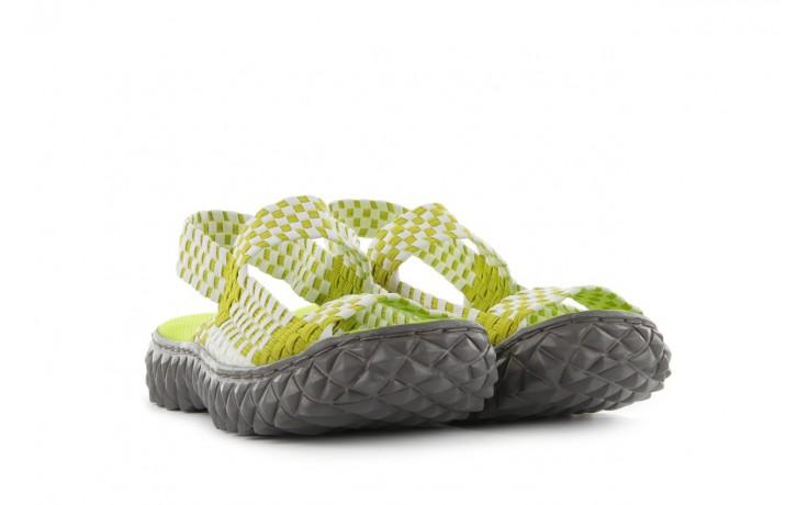 Sadały rock sandal 2 green-white, zielony/ biały, materiał - rock - nasze marki 1