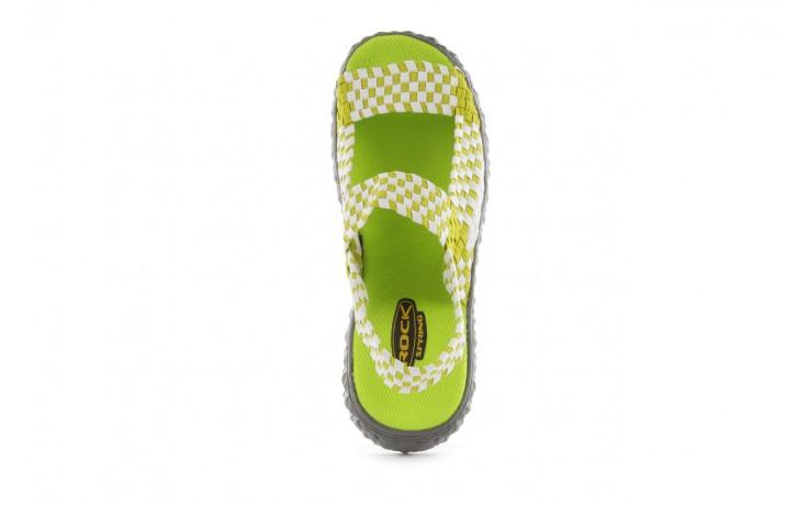 Sadały rock sandal 2 green-white, zielony/ biały, materiał - rock - nasze marki 4