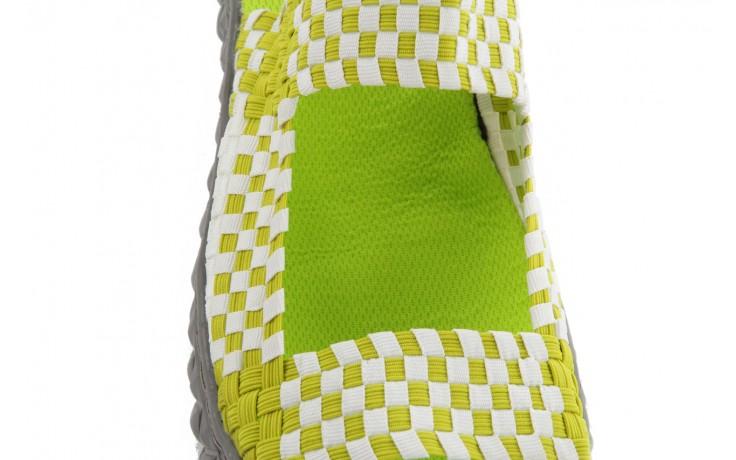 Sadały rock sandal 2 green-white, zielony/ biały, materiał - rock - nasze marki 6