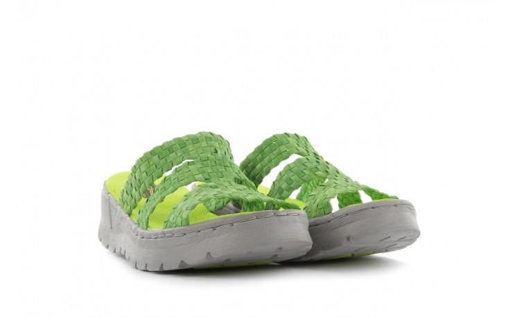 Sandały rock santa barbara green washed, zielony, materiał - rock - nasze marki 1