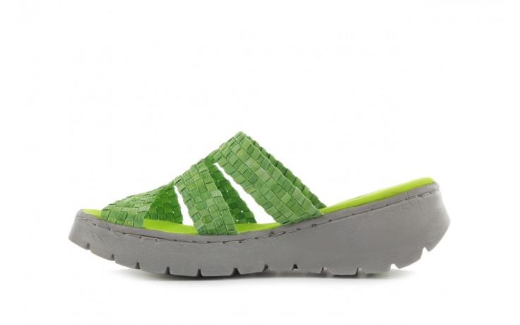 Sandały rock santa barbara green washed, zielony, materiał - rock - nasze marki 2