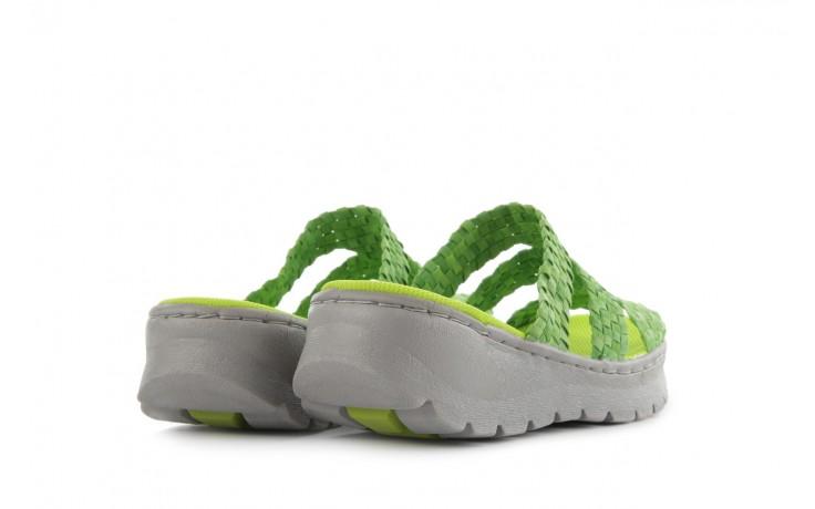 Sandały rock santa barbara green washed, zielony, materiał - rock - nasze marki 3