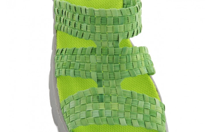 Sandały rock santa barbara green washed, zielony, materiał - rock - nasze marki 5