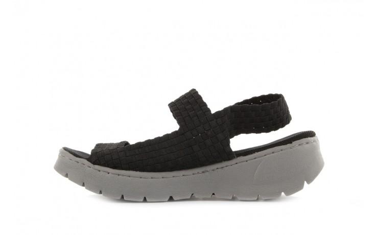 Sandały rock santa clara black, czarny, materiał - rock - nasze marki 2