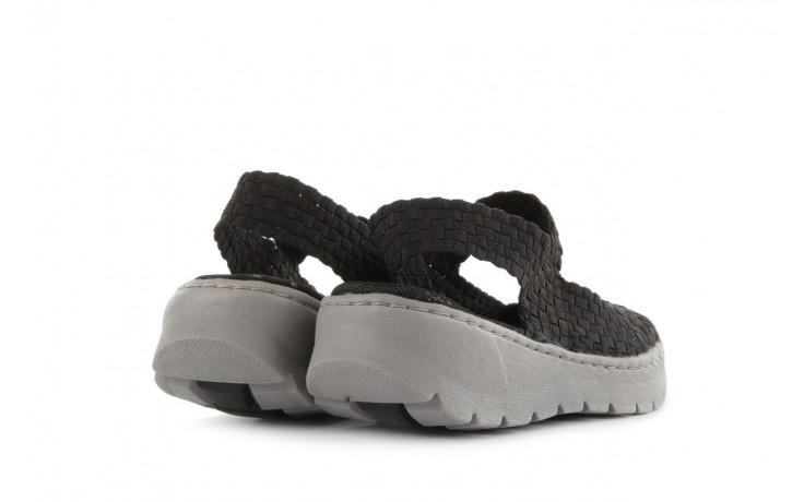 Sandały rock santa clara black, czarny, materiał - rock - nasze marki 3