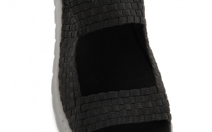 Sandały rock santa clara black, czarny, materiał - rock - nasze marki 5