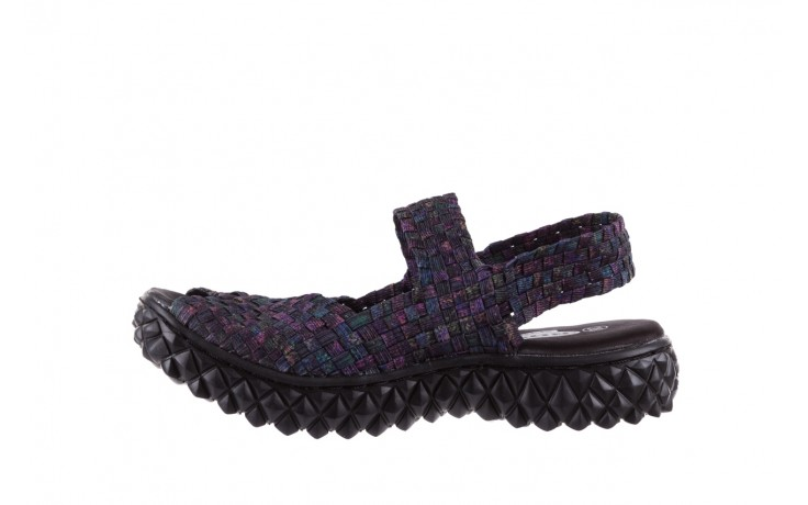 Sandały rock sofia galaxy 20, fioletowy, materiał - płaskie - sandały - buty damskie - kobieta 2