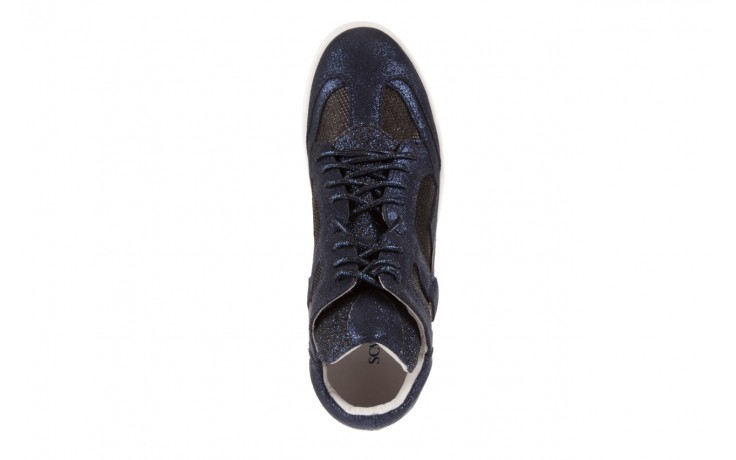 Sneakersy sca'viola 1208-1 navy, granat. skóra naturalna  - sca`viola - nasze marki 4