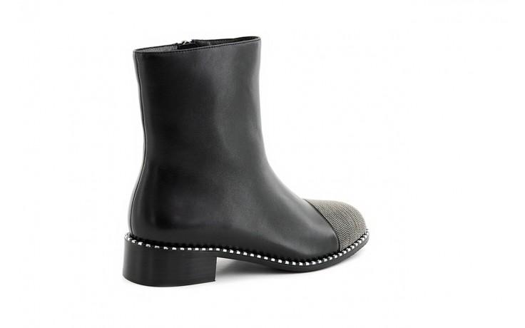 Botki sca'viola f-93 black, czarny, skóra naturalna  - worker boots - trendy - kobieta 3