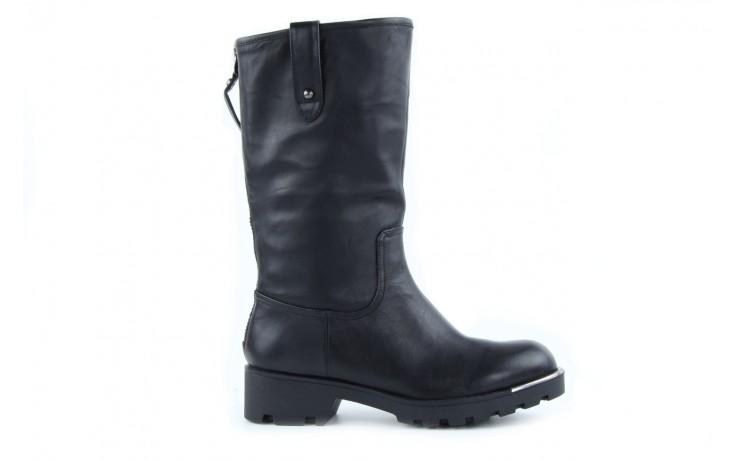 Kozaki sca'viola 6ia70 black, czarny, skóra naturalna  - płaskie - kozaki - buty damskie - kobieta 1