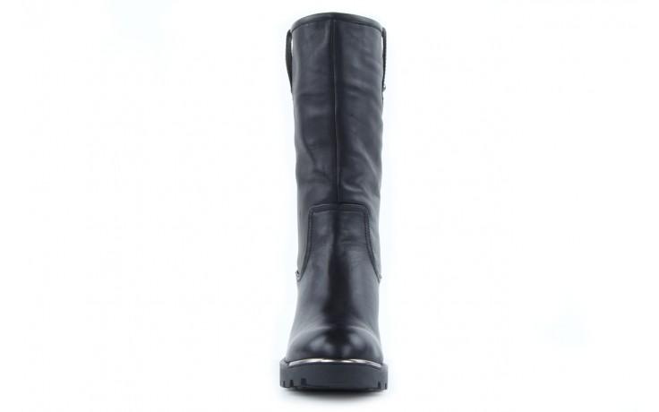 Kozaki sca'viola 6ia70 black, czarny, skóra naturalna  - płaskie - kozaki - buty damskie - kobieta 2
