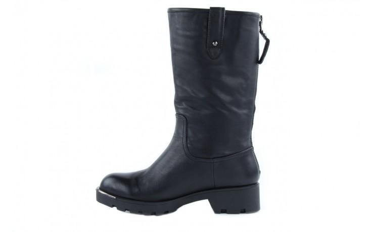 Kozaki sca'viola 6ia70 black, czarny, skóra naturalna  - płaskie - kozaki - buty damskie - kobieta 5