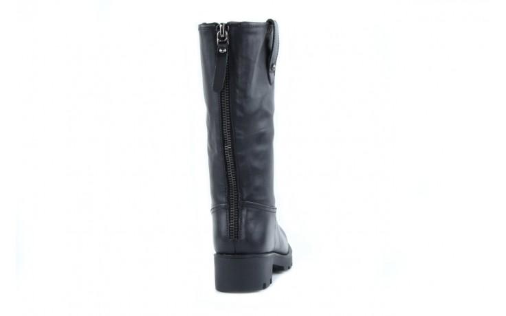 Kozaki sca'viola 6ia70 black, czarny, skóra naturalna  - płaskie - kozaki - buty damskie - kobieta