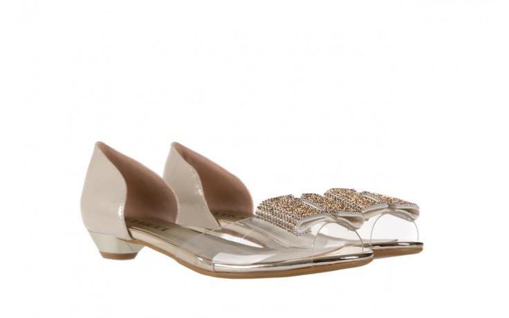 Sandały sca'viola a112-8 gold, złoty, silikon  - sca`viola - nasze marki 1