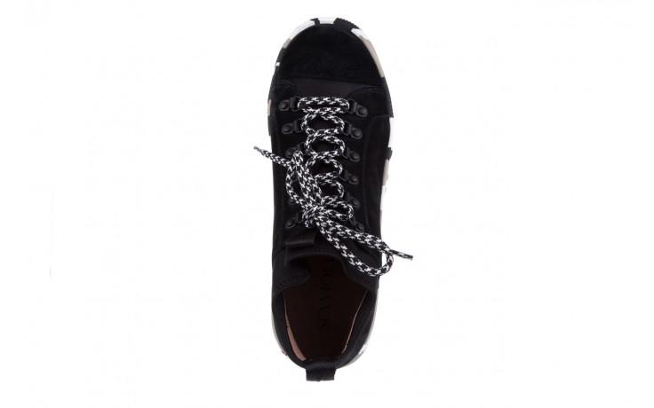 Trampki sca'viola lwu15 black, czarny, skóra naturalna  - obuwie sportowe - dla niej - dodatkowe -10% 4