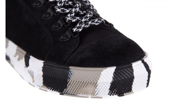 Trampki sca'viola lwu15 black, czarny, skóra naturalna  - obuwie sportowe - dla niej - dodatkowe -10% 5