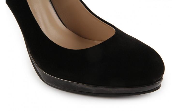 Czółenka sca'viola w2035-28 black suede, czarny, skóra naturalna - sca`viola - nasze marki 5