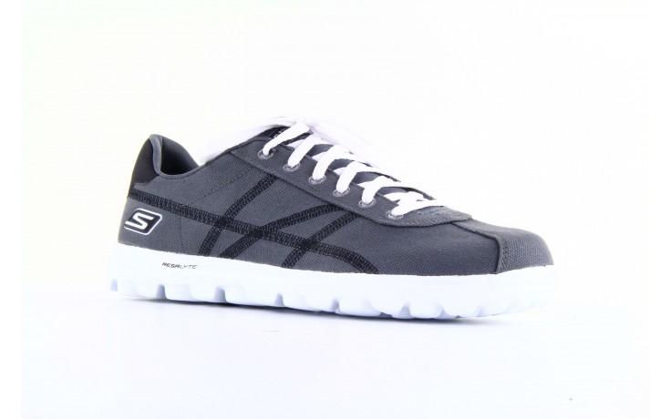 Skechers 53661 gybk gray- black 5